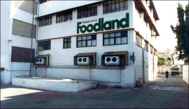 Foodland in Indien